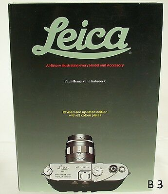 Original Leitz Leica M Buch Book History Model and Accessory Van Hasbroeck B3(4)