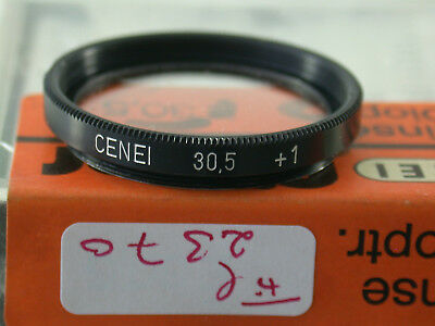Original Cenei Nahlinse Close-up Filter Lens 30,5mm 30,5Ø E30,5 fil2370/8