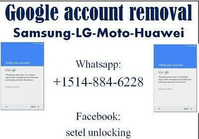GOOGLE ACCOUNT REMOVAL Huawei all models supported/ Bypass FRP