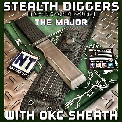 Stealth Diggers The Major digging camp survival pry bar tool sheath Rogan USA