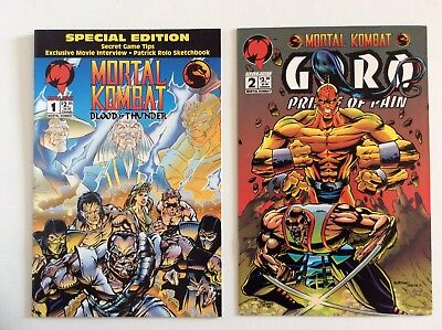 Mortal Kombat Blood & Thunder 1 Special Edition + Goro Prince Of Pain 2 Free S/h