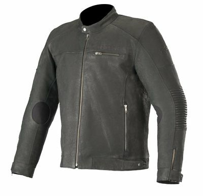 Alpinestars Warhorse Leather Jacket Black Tg. 54