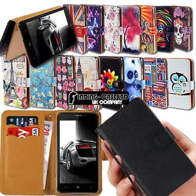 For Various Leagoo SmartPhones Leather Smart Stand Wallet Case Cover