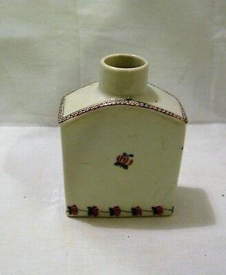 CHINESE EXPORT PORCELAIN TEA CADDY c.1790