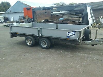 ifor williams dropside trailer12x6.6