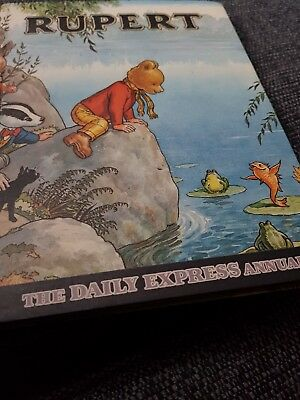 Rupert annual 1969 x extremely nice copy x 73 x