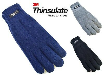 Ladies Womens Knitted Winter Warm Thermal Thinsulate 3M Insulation Lined Gloves