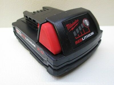 Milwaukee 48-11-1820 M18V Red Lithium Compact Battery Pack 2.0Ah 18v