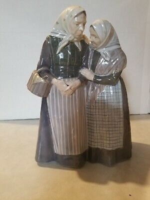 Vintage Royal Copenhagen The Gossips Large Figurine