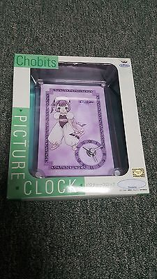 Chobits- Sumomo- Picture Clock- Banpresto- Kodansha- Japan Import