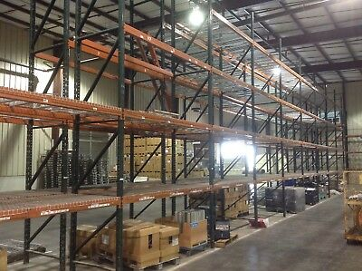 "pallet rack warehouse racks  42"" x 240"" uprights warehouse shelving 20' uprights"