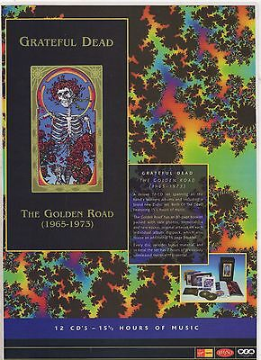 ☆☆ Rare THE GRATEFUL DEAD THE GOLDEN ROAD CD MC LP POSTER MAGAZINE ADVERT ☆☆ 005