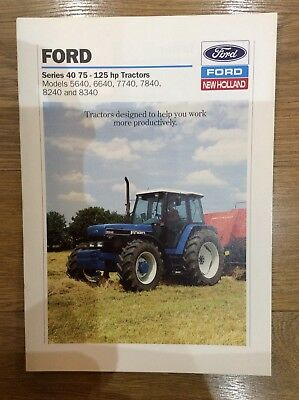 Ford Tractor Brochure