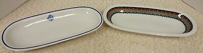Lot Of 2 Vintage Lamberton Scammell Dish/pacific Railroad?