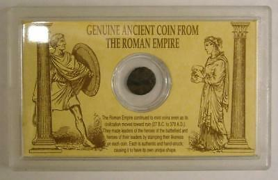 GENUINE ANCIENT COIN FROM ROMAN EMPIRE 27 B.C to 378 A.D