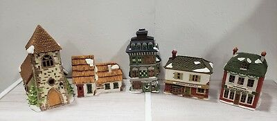 Department 56 dickens village lot Of 5
