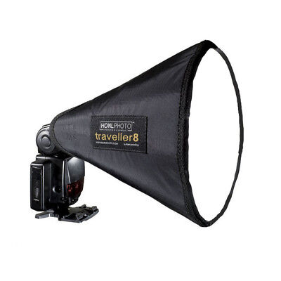 GUC HONL PHOTO Traveller8 Softbox for Speedlight Flash