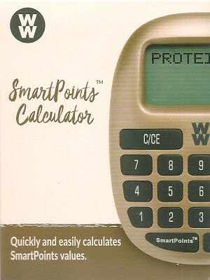 New Sealed 2018 Weight Watchers Ww Freestyle Electronic Smartpoints Calculator