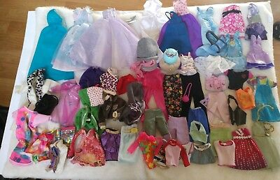 Large mixed clothes lot for Liv - Barbie  My scene and friends #A
