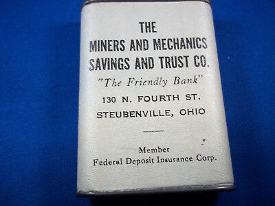 Vintage Coin Bank - Promotional Steubenville, OH