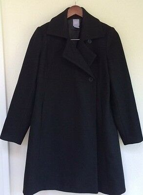 EUC! GAP * MATERNITY * WINTER * COAT * JACKET * WOMENS * WOOL BLEND * Size: S