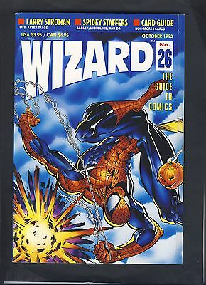 """WIZARD """"The Guide to Comics October, 1993 #26"""