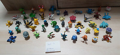 Pokemon Figuren 50 Stück, Pokemon 2cm - 4cm, Set 4