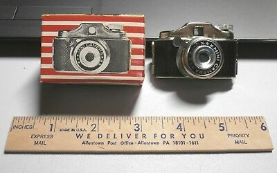 Vintage Crystar Miniature Spy Camera Japan Nos With Box New Look