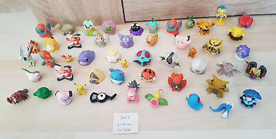 Pokemon Figuren 50 Stück, Pokemon 2cm - 5cm, Set 7