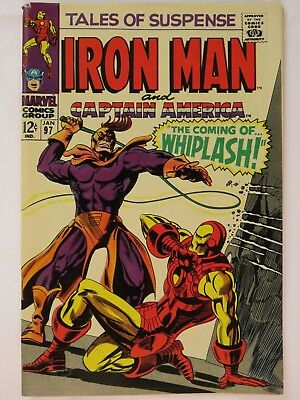 Tales of Suspense #97 Iron Man/Cpt America Black Panther Marvel 1967 VG/FN 5.0
