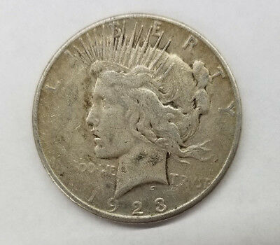 United States Peace Dollar, 1923-S