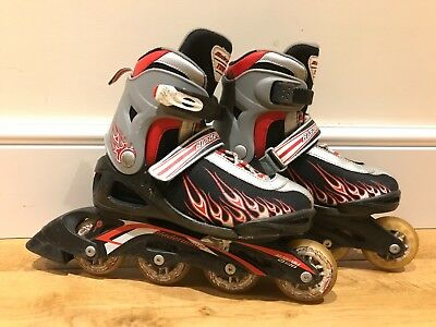 Blade Runner Twist Inline Roller Skates Adjustable Size UK 2-6, EU 35-39