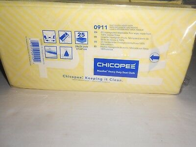 Chicopee Mfg. Heavy Duty Dust Cloths, 24 x 24 Case of *4*-Disposable Floor Wipes