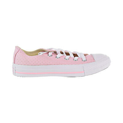 18f9f364e749 Converse Chuck Taylor All Star Ox Women s Shoes Cherry Blossom White 560680c
