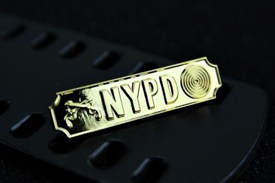 US Police insignia Citation Commendation bar NYPD Pistol