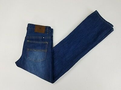 Lucky Brand Boys 14 Billy Straight Jeans pants stretch denim made in USA Cotton