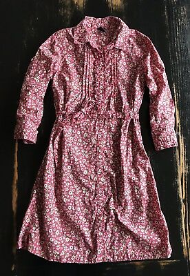GAP Girls Floral Flower Dress, Size 10 Large EUC
