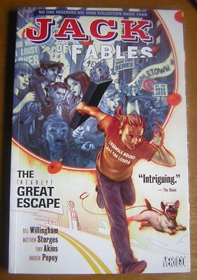 JACK of  FABLES    THE (NEARLY) GREAT ESCAPE Vol 1    TPB