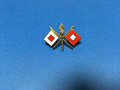 Us Army Signal Corps Hat/lapel Pin