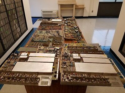 37 Lbs. Computer Circuit Boards for Gold Scrap Recovery & Memory. Varian & H.P.