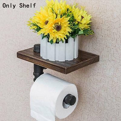 Bathroom Wall Hanging Paper Holder Storage Placed Items Wrought Iron New Brand