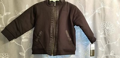 Kenneth Cole Reaction Boys Jacket - Size 24 Months - Black - New W/ Tags