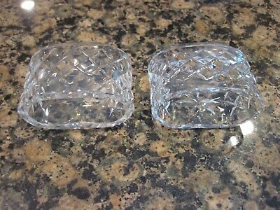 Waterford Crystal Alana Napkin Rings (Set of Two) (JUST REDUCED)