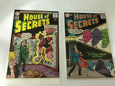 SILVER AGE COMICS BLOWOUT: House of Secrets #56 and #62 - FB