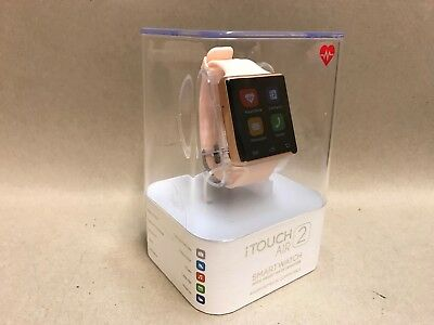 iTouch Air 2 Silicone Strap Bluetooth Smart Watch Android & iOS Compatible NEW