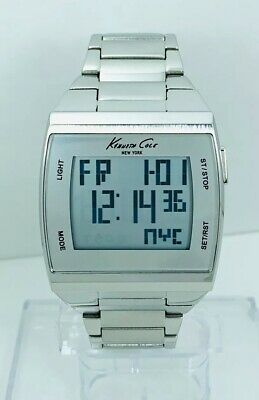 Kenneth Cole KC3911 Touch Screen Alarm Chronograph World Time Watch