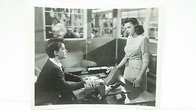 "Vintage Judy Garland ""The Clock"" Movie Set Still B&W Photograph 8x10 Photo"