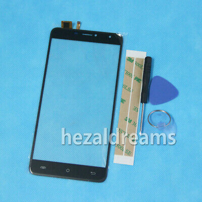 New Touch Screen Digitizer Glass Panel Replacement Per Cubot MAX+Tools 3M Tape