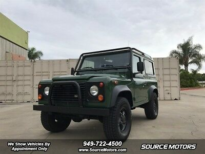 1997 Land Rover Defender 90 SW 1997 Land Rover Defender 90 SW, Automatic, A/C, Blacked Out New Stereo Bluetooth