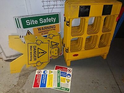 Safety barrier cordon hazard warning partition extending expandable portagate